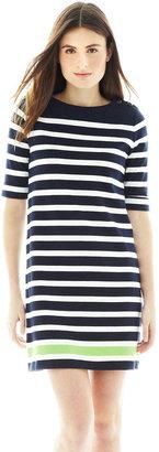 Joe Fresh Nautical Striped Sheath Dress