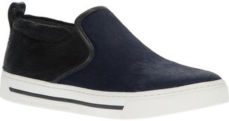 Marc by Marc Jacobs pony skin skater shoe