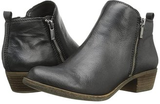 Lucky Brand Basel (Black) Women's Zip Boots
