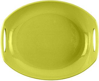 Dansk CLOSEOUT! Dinnerware, Classic Fjord Apple Green Platter