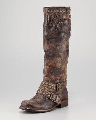 Frye Jenna Studded Tall Boot