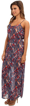 Angie Printed Maxi Dress