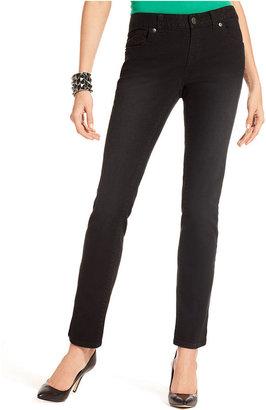 INC International Concepts Jeans, Skinny, Black Wash