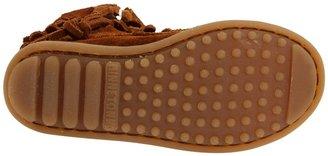 Minnetonka Kids - Side Zip Double Fringe Girls Shoes