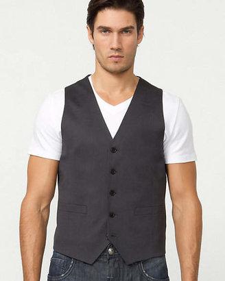 Le Château Wool Blend Micro Stripe Vest