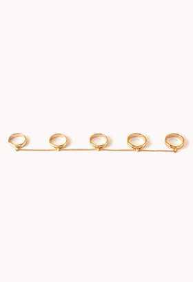 Forever 21 Cool Girl Multi-Finger Ring