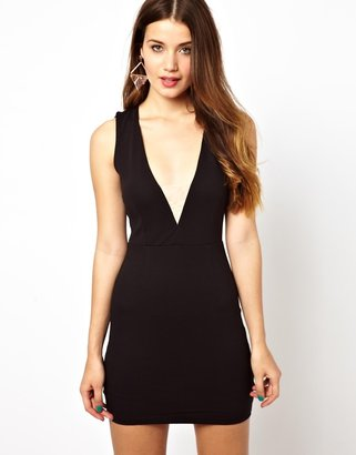 Forever Unique Selfish By Bodycon Dress