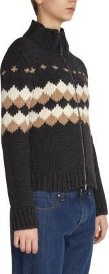 Marni Diamond Knit Cardigan