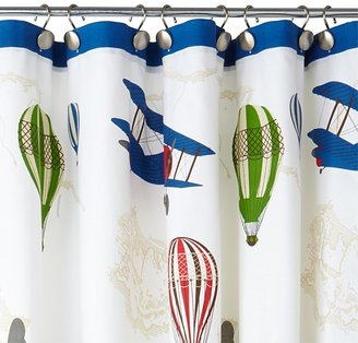 Kassatex In Flight Shower Curtain