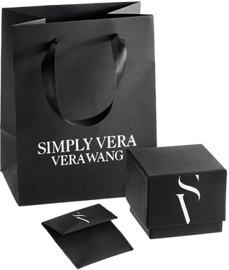 Simply Vera Vera Wang 14k Rose Gold 1/7-ct. T.W. Diamond Wedding Band