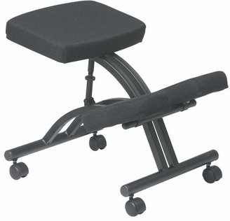 Office Star Height Adjustable Kneeling Chair with Dual Wheel