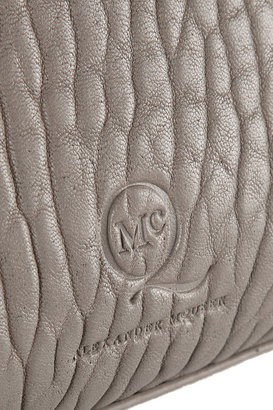 McQ Stepney textured-leather tote