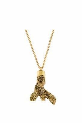 Veja Mate Coral Pendant Necklace