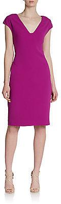 Rachel Roy Cap-Sleeve Sheath Dress