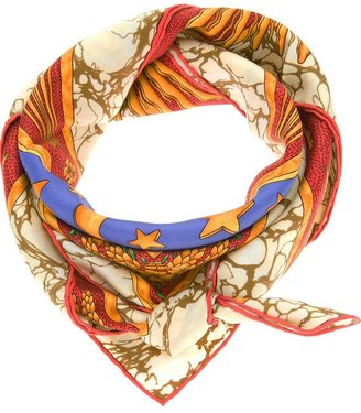 Hermes Vintage sun print scarf