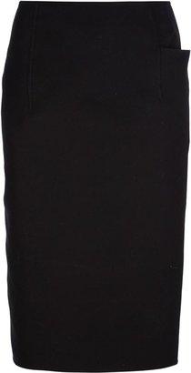 Jil Sander 'Noisette' pencil skirt