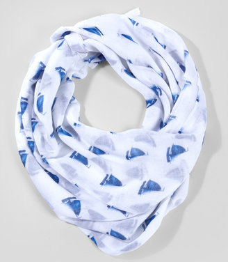 Fred Flare Smooth Sailing Printed Scarf