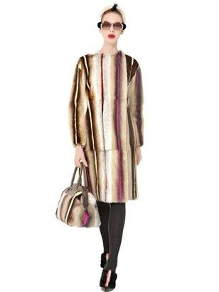 Fendi Mink Long Fur Coat