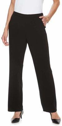 3fd6e4c8ee4 Dana Buchman Women's Midrise Comfort-Waist Pull-On Pants