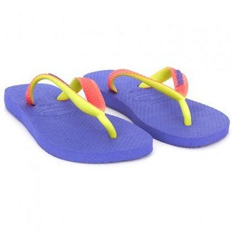 Havaianas Purple Branded Flip Flops