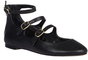 Betsey Johnson Blisful Faux Leather Flats