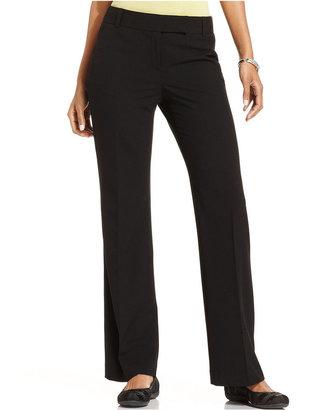 Charter Club Pants, Straight-Leg Slim It Up Trousers