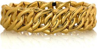 Philippe Audibert Gold-plated chain link cuff