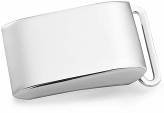 Brooks Brothers Sterling Plain Plaque Buckle