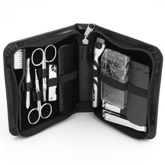 Bey-Berk 11-pc. Manicure& Shave Set