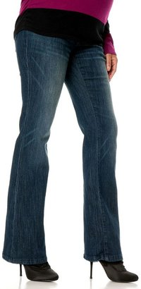 Oh Baby by motherhood TM secret fit belly TM bootcut jeans - petite maternity