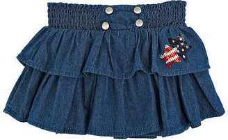 Babies 'R' Us Babies R Us Koala Kids Girls' Ruffle Tiered Denim Skirt