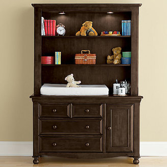 JCPenney Bedford Baby Monterey Changing Table or Hutch - Chocolate Mist