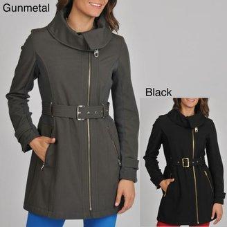 Miss Sixty Women's Asymmetrical Zip Active Jacket $91.99 thestylecure.com