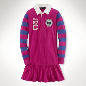 Long-Sleeved Rugby Dress