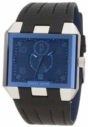 Police Men's PL-12551JS/03 Leather Watch
