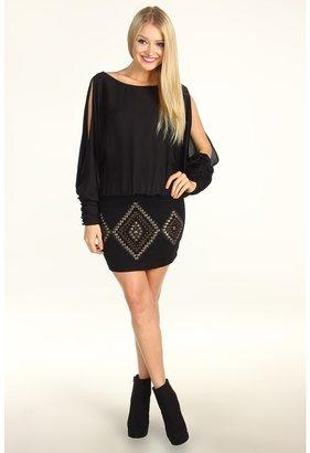 Hale Bob So Haute It Burns Dress (Black) - Apparel