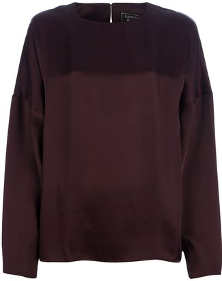 Lanvin boxy loose fit top