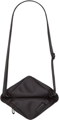 Côte and Ciel Tara M Black Sleek Nylon Cross-body Bag