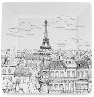 Bed Bath & Beyond Eiffel Tower Square Dinner Plate