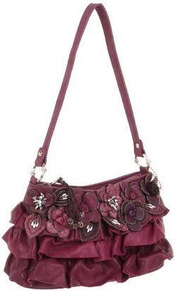 Mary Frances Women's 3037 Orchid Shoulder