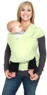 Moby Wrap Organics Baby Carrier - Celery Green