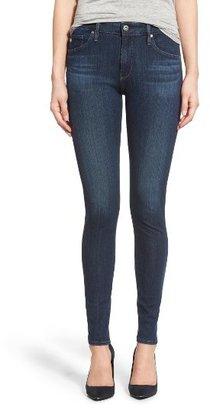 Women's Ag 'Contour 360 - Farrah' High Rise Skinny Jeans $198 thestylecure.com