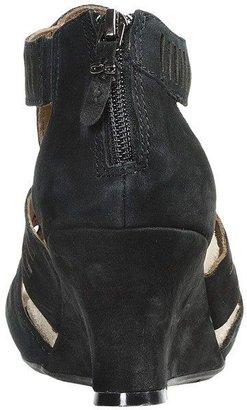 Earthies Carmona Sandals - Suede, Wedge Heel (For Women)