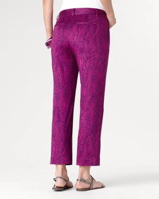 Coldwater Creek Fab fronds ankle pant