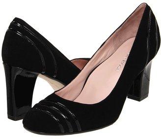 Taryn Rose Chari (Black Kid Suede) - Footwear
