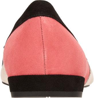 Prada Colorblock Bow Flat