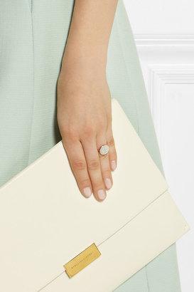 Monica Vinader Ava rose gold-plated diamond ring