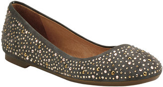 Sperry Emma Suede Flats with Rhinestones
