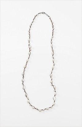 J. Jill Long freshwater pearl necklace