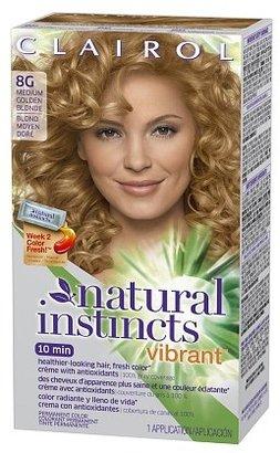 Clairol Natural Instincts Vibrant Permanent Hair Color Medium Golden Blonde 8G